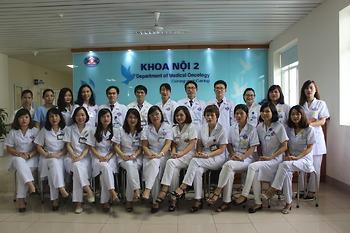 Giới thiệu Khoa Nội 2 (Điều trị Ung thư phổi, ung thư vùng đầu cổ)