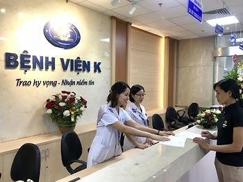 Bệnh viện K tổ chức