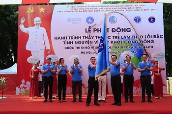 Phát động trình Thầy thuốc trẻ làm theo lời Bác, tình nguyện vì sức khỏe cộng đồng nhân kỷ niệm 129 năm ngày sinh Chủ tịch Hồ Chí Minh
