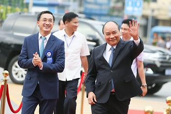 Ảnh: Thủ tướng Chính phủ Nguyễn Xuân Phúc thăm và làm việc tại Bệnh viện K